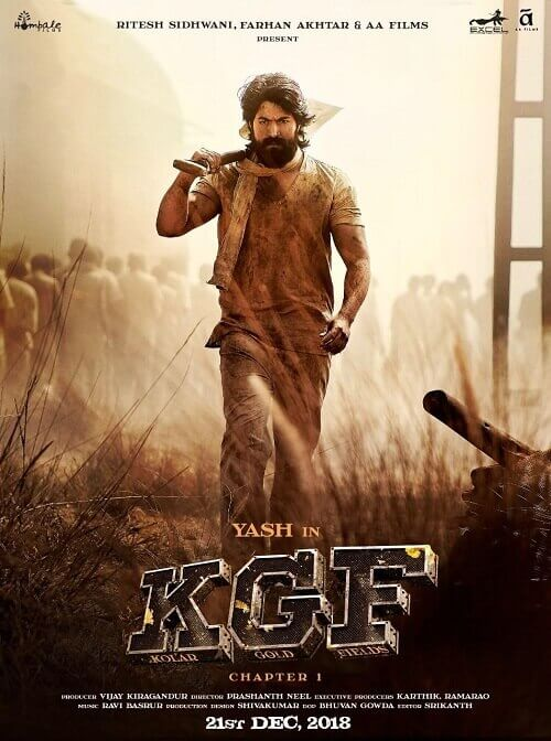 Download KGF: Chapter 1 Movie in Hindi (Dubbed) in HD